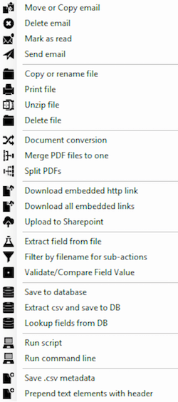 Mail Attachment Downloader Pro editions